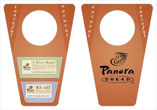 PersonPanera Bread Door Hanger