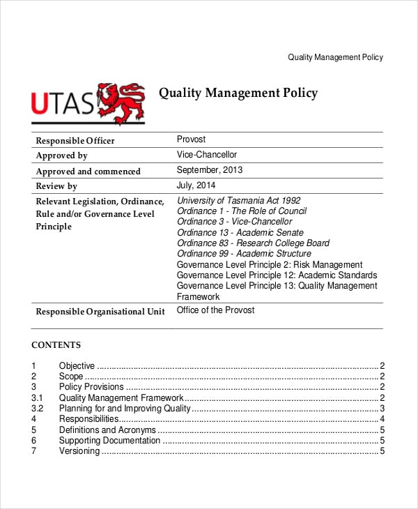 Data Management Policy Template Policy Template Word Business Travel Policy Template Travel Policy Template 7 Free Word Pdf