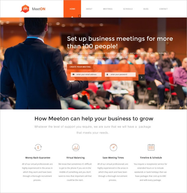 Annual Conference & Event WordPress Theme $59
