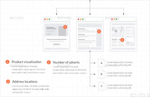 Web Tiles For Wireframes And Flowcharts V1