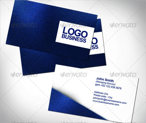 Fabric Name Card