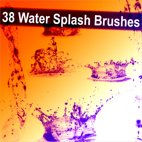 water splash brushes