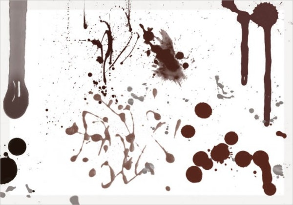 blood splatter brushes