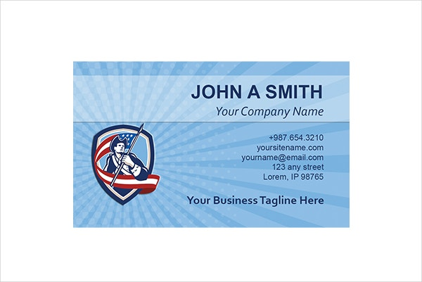 air force business cards templates
