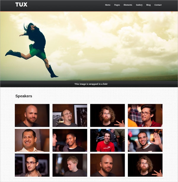 Creative Responsive Html5 Website Theme $16