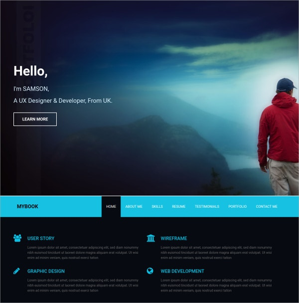 portfolio responsive bootstrap free website html5 template
