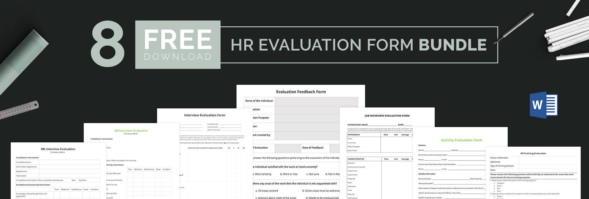 bundle hr evalution form