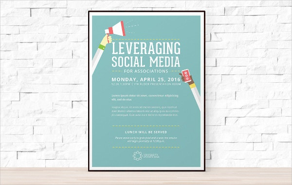 diy printable social media flyer