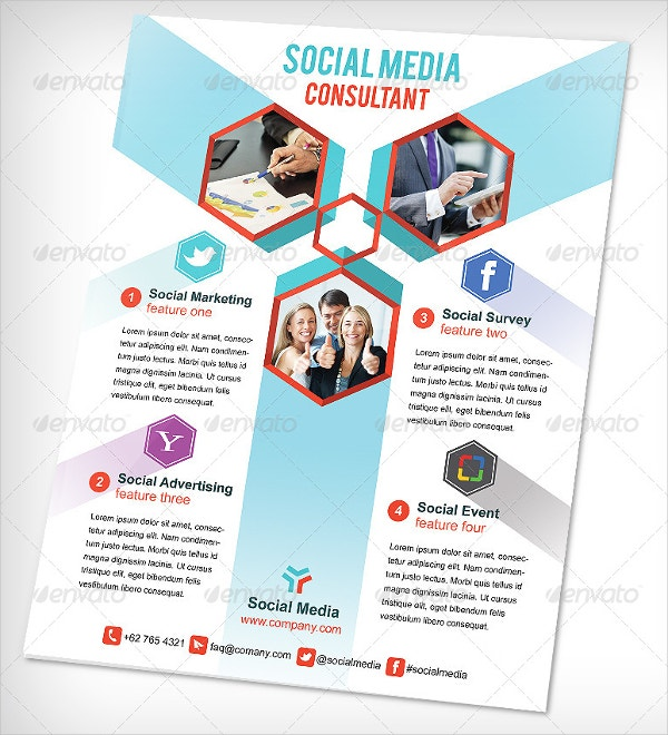 Social Media Flyers  Free Psd Ai Eps Format Download  Free