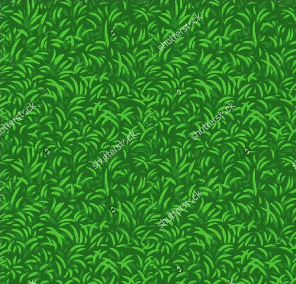 grass seamless vector pattern
