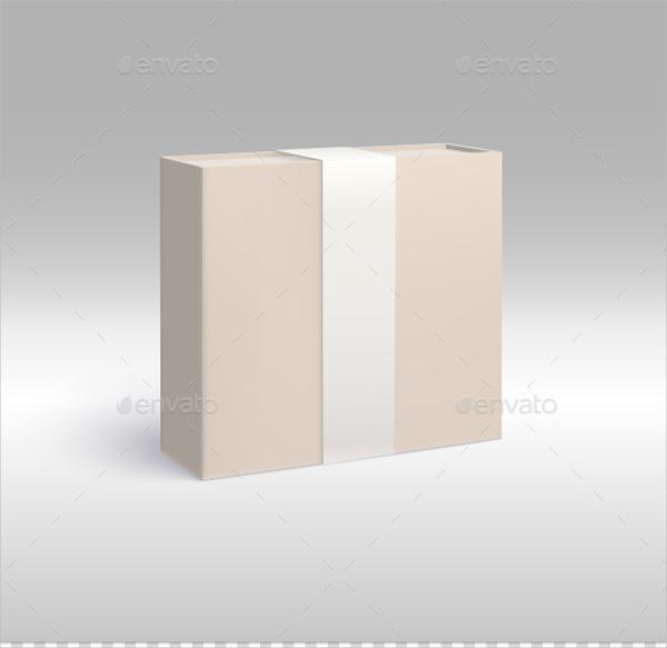 Paper Gift Box Design