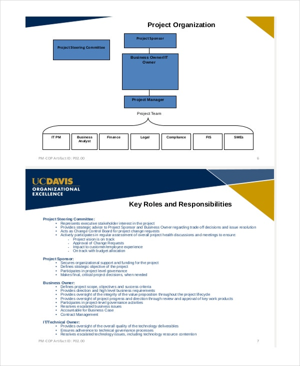 Project Management Presentation Template