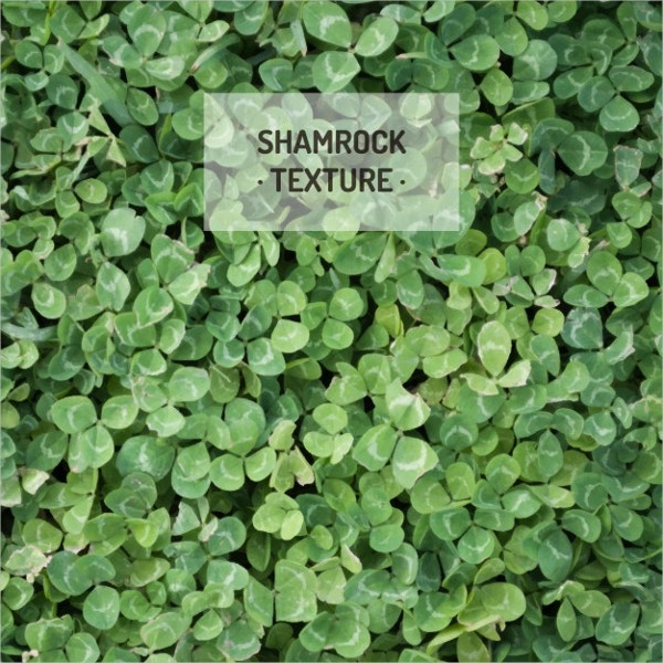 shamrock grass pattern