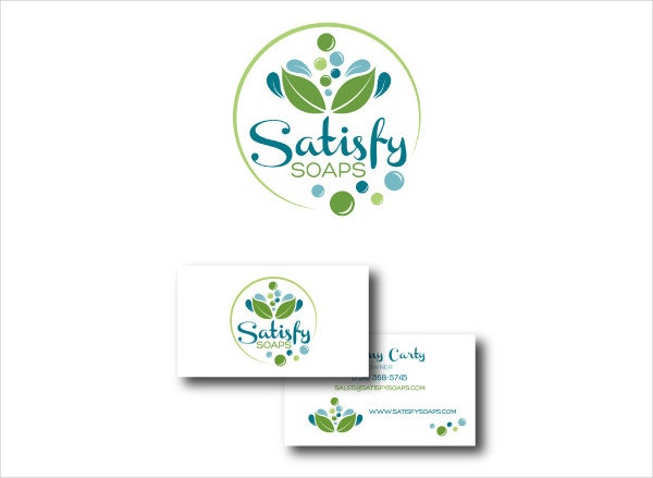 medical logo business card