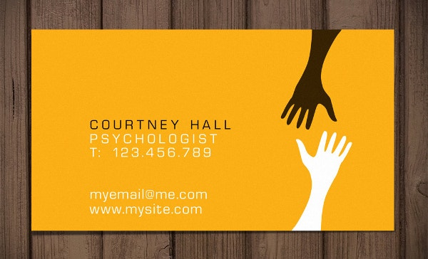 premade medical business card template