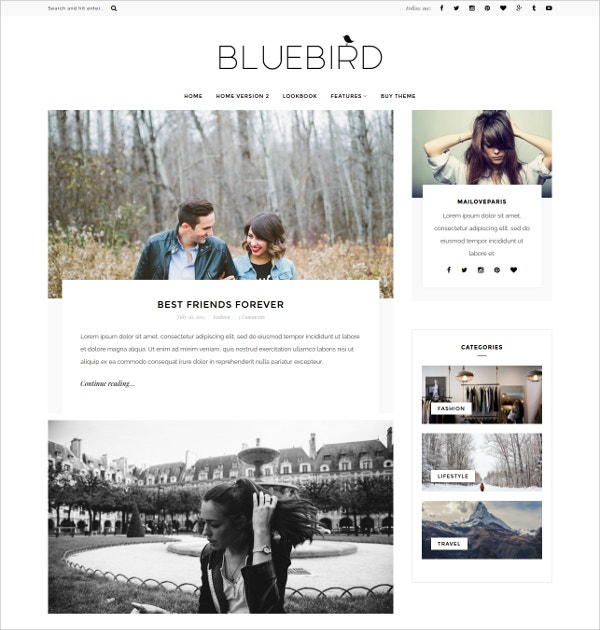 minimal personal wordpress blog theme 29