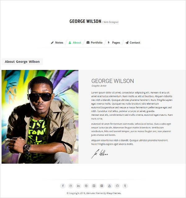 personal music wordpress website theme 39