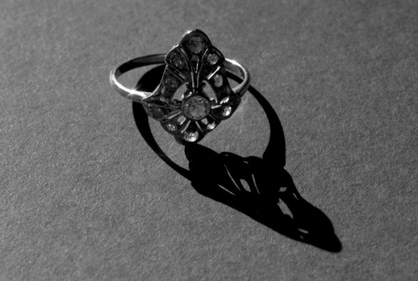 black white ring photography