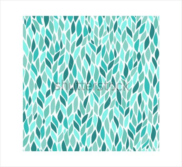 Blue Leaf Pattern