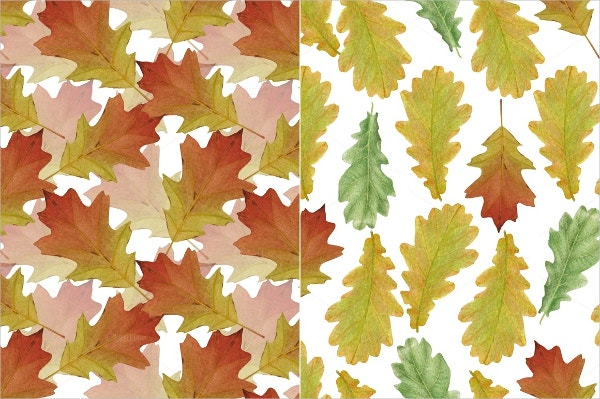 Oak Leaf Pattern