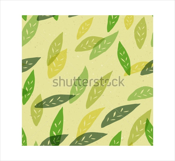 jungle leaf pattern