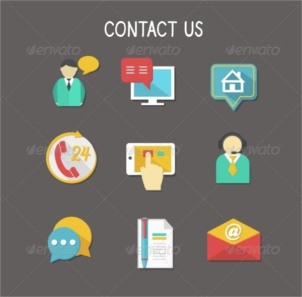 Cool Contact Us Icons