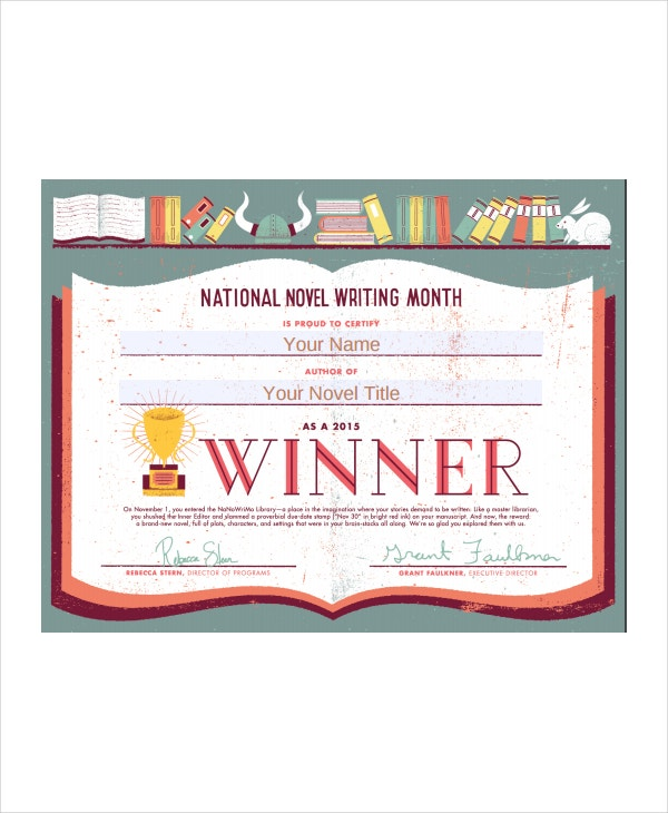 Winner certificate template 9 free pdf document downloads free award winner certificate template yelopaper Gallery