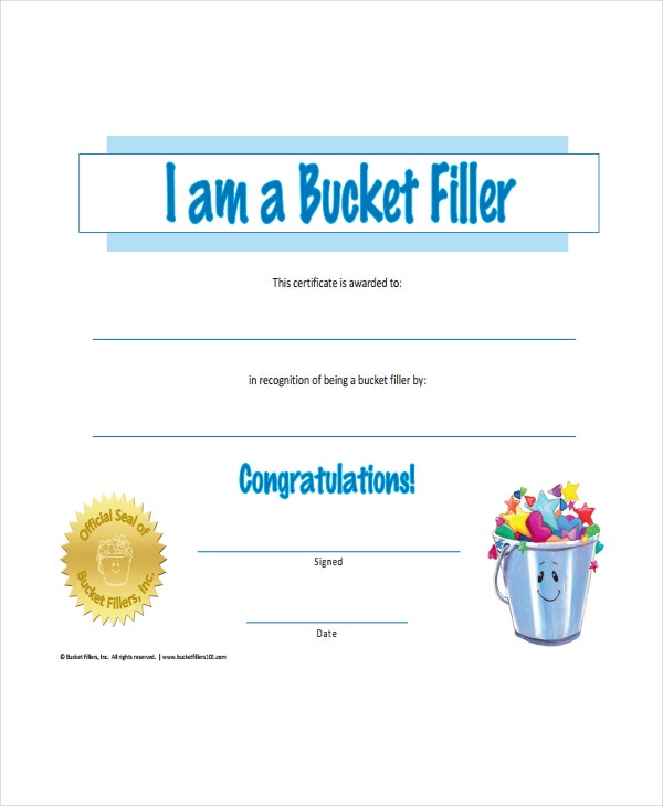 certificate for competition winner