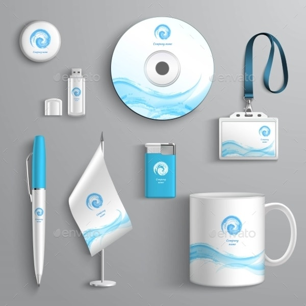 Corporate Identity Stationery Design