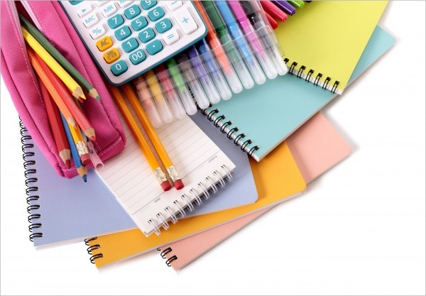 School stationery Design