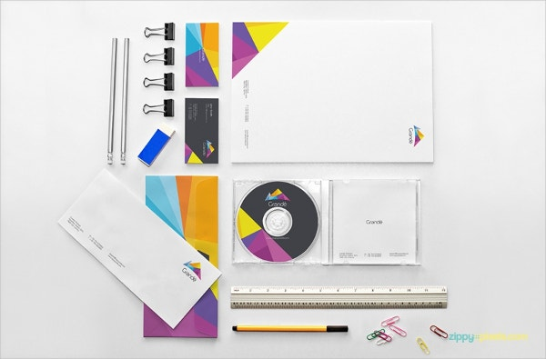 Stunning Stationery Mock Up Design