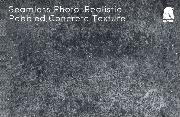 Seamless Pebbled Concrete Texture