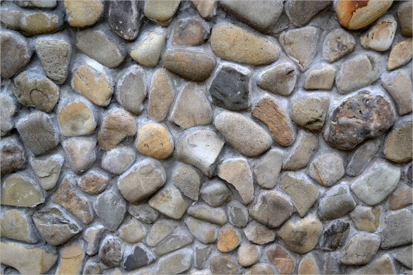 Natural Stone Pebble Texture