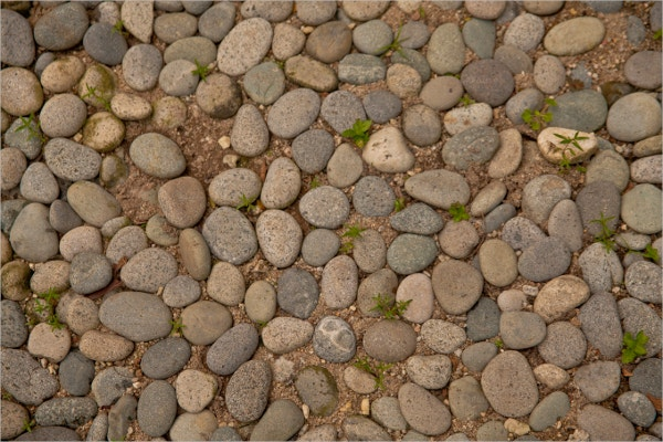 decoration pebble texture