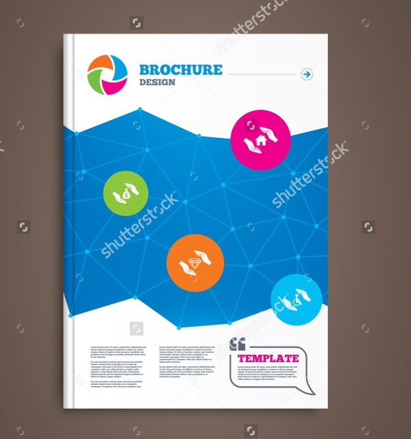 house property insurance brochure template