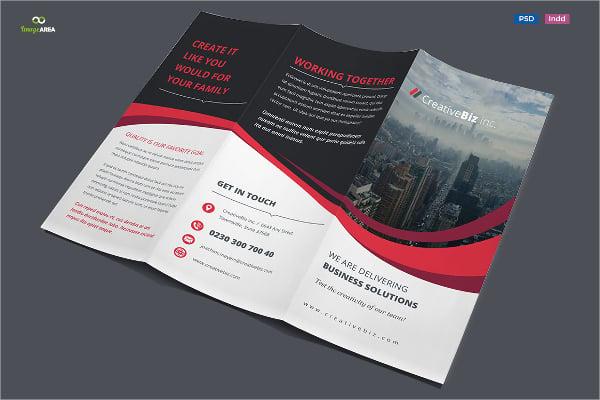 insurance tri fold brochure