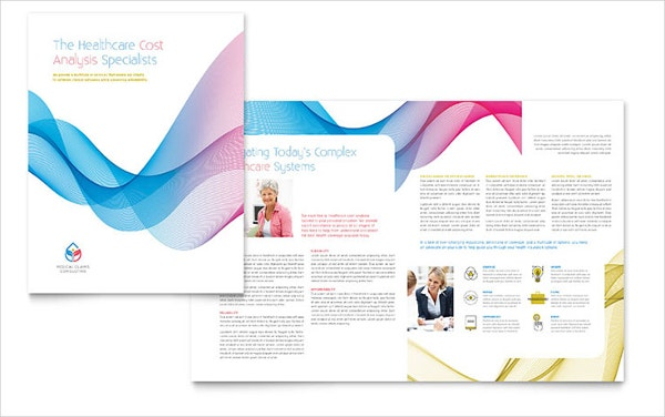 Insurance Consulting Brochure Template  Free Brochure Design Templates Word