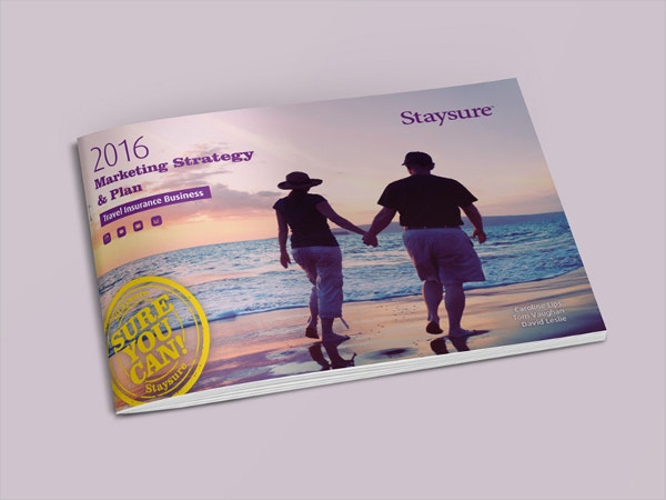travel insurance brochure template