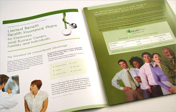benefit insurance brochure template
