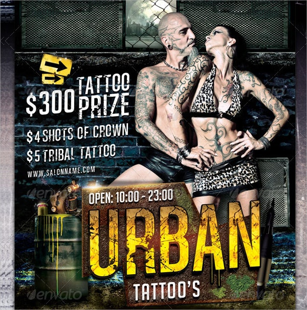 Urban Tattoo Flyer