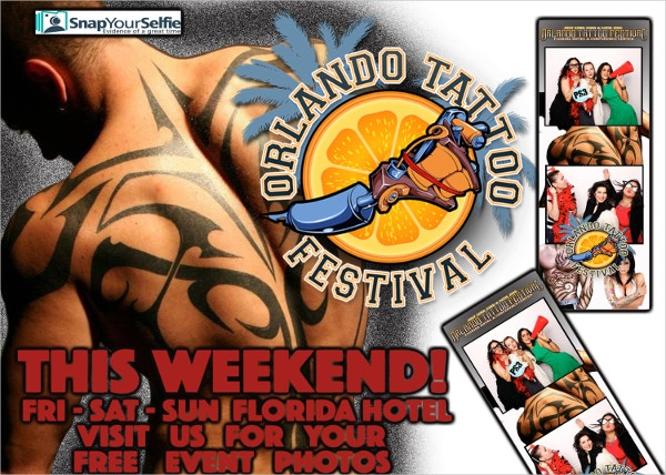 Tattoo Event Flyer