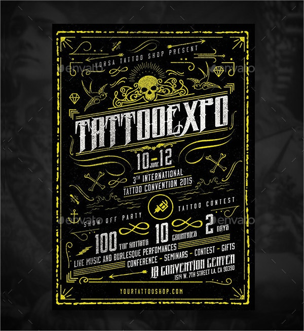 Tattoo Convention Flyer