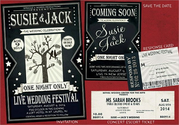 wedding festival flyer