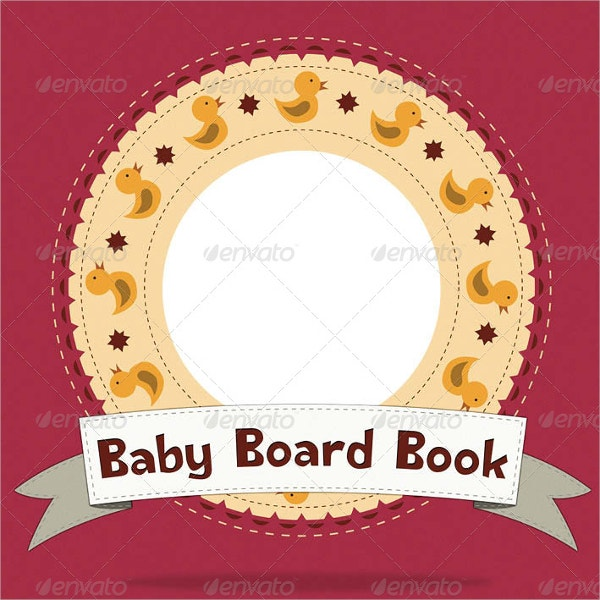 Baby Board Book Template