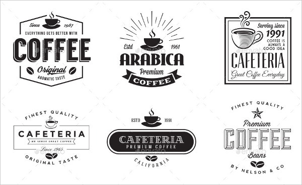 Retro Coffee Logo