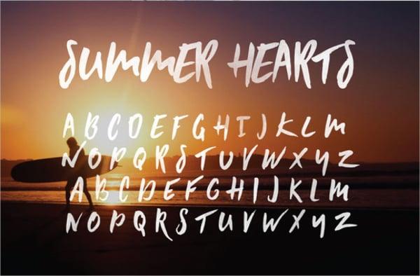 Summer Heart Pixel Font