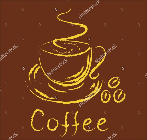 Steaming Coffee Logo