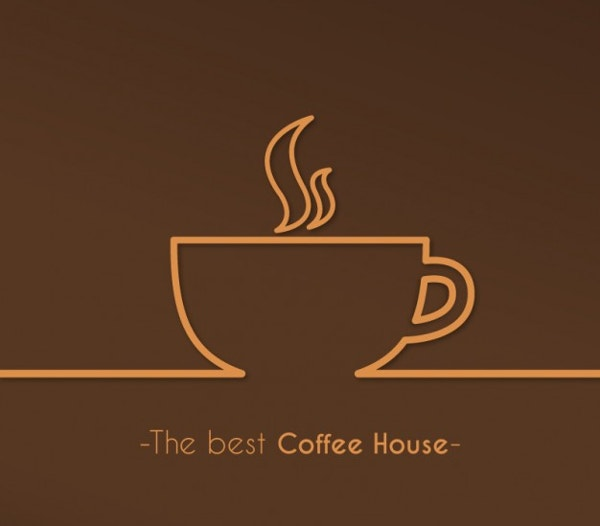 Best Coffee House Logo Free Vector