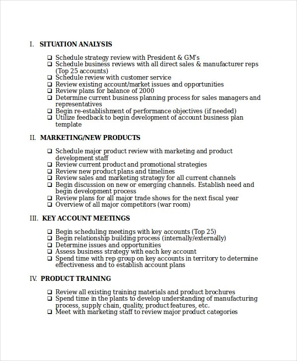 Word Action Plan Template 7 Free Word Document Downloads – Sales Action Plan Template