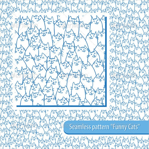 Seamless Cats Pattern